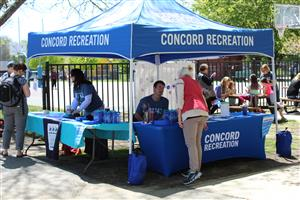 Concord Recreation Tent at Event